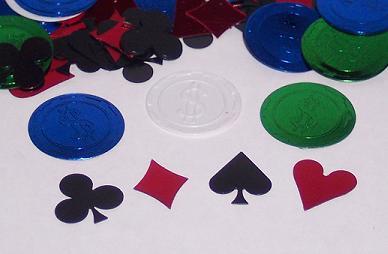 Poker Party Confetti