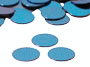 "Round Confetti, Sky Blue 1/4"" by the packet or pound"