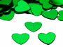 Heart Confetti, Green Available by the Pound or Packet
