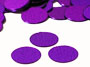 "Round Confetti, Purple 1/4"" by the packet or pound"