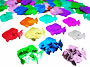 Jumbo Metallic Fish Confetti