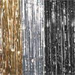 Metallic Curtains 3 foot by 8 foot