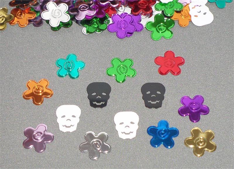Day of the Dead Confetti Multi Color Dia de los Muertos Confetti