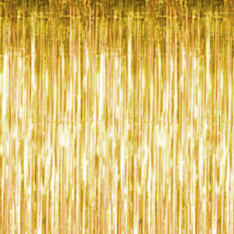 Gold Metallic Fringe Curtain Gold Curtains With Light