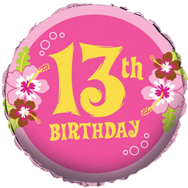 13th Birthday Teenager Related Keywords & Suggestions - 13th ...