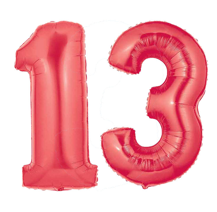 Red Number 13