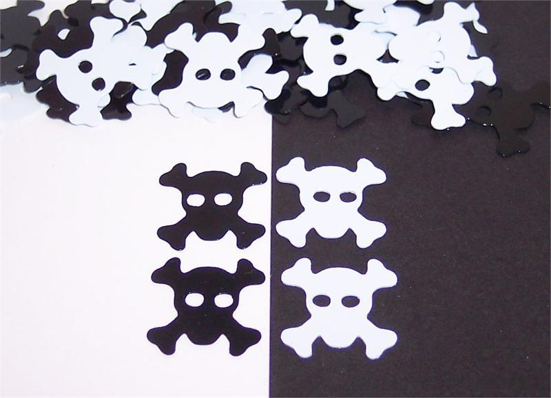 Skull and Crossbones Confetti