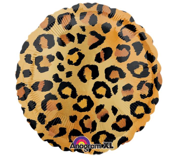 Leopard Balloon, Leopard Print Mylar Balloon