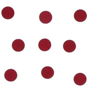 Tiny Red Metallic Dots Confetti