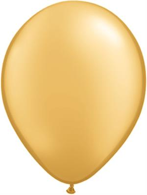 Gold Biodegradable Latex Balloon