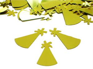 Gold Party Hat Confetti Pound or Packet