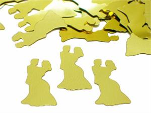 Gold Wedding Confetti Table Decorations