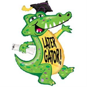 Gator Graduation Balloon
