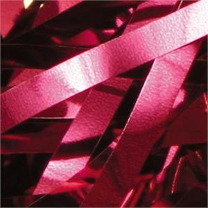 Burgundy Metallic ribbon confetti bulk