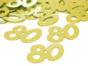 Number-80-Confetti-Gold-Bulk or Pack