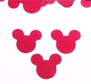 Bulk Red Mickey Mouse Confetti