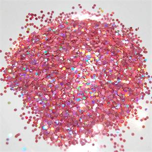 Rose Pink Glitter Bulk Prismatic