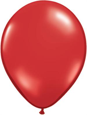 Ruby Red Biodegradeable Balloons