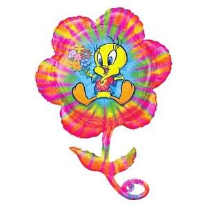 Tweety Bird Balloon Flower