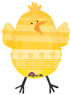 Yellow Baby Chick Balloon