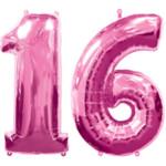 Sweet 16 Confetti, Pink Sweet 16th Birthday Confetti Pound ...