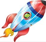Rocket Ship Balloon