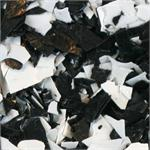 Bulk Black and White Confetti by the Pound