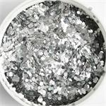 Silver Glitter by the Pound