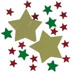 Christmas Star Confetti