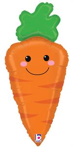 Carrot Shaped Balloon Large