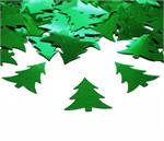 Christmas Tree Confetti Metallic Green Bulk or Packet