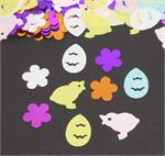 Easter Confetti Bulk or Packet Chicks, Eggs, Flowers