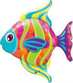 Large Colorful Fish Balloon