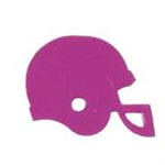 Metallic Fuchsia Football Helmet Confetti