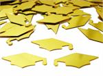 Graduation Party Confetti Shiny Gold