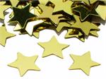 Shiny Gold Star Shaped Confetti