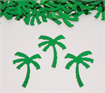 Large Palm Tree Confetti Green