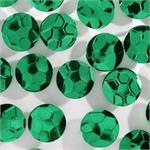 Metallic Green Soccer Confetti