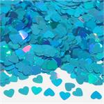 Ice Blue Heart Confetti