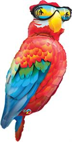 Large Red Parrot Balloon, 50