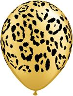 Leopard Print Balloons, 100 Count