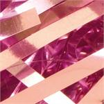 Metallic Pink Ribbon Confetti Bulk by the Pound