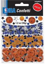 NBA Basketball Confetti