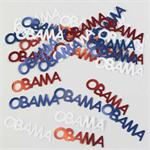 Red, White and Blue Obama Party Confetti