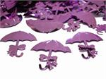 Metallic Pink Parasol Shaped Confetti
