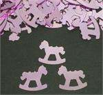 Pink Rocking Horse Confetti