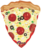 pizza balloon mylar pepperoni pizza balloon