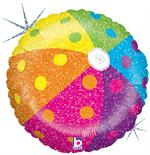 Prismatic Beach Ball Balloon