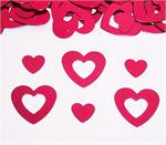 Red Open Hearts Confetti Special