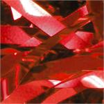 Red Metallic ribbon confetti bulk, Bulk Red Metallic Shred